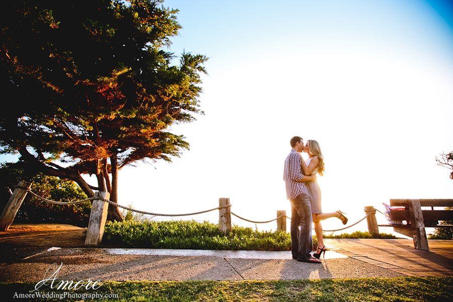 San Diego Engagement Photos Del Mar Beach California