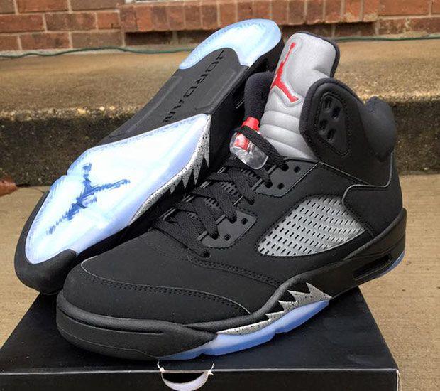 Air Jordan 5 Nike Air Black/Metallic