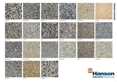 Decorative Concrete Perth Exposed Aggregate Concrete Aggregate