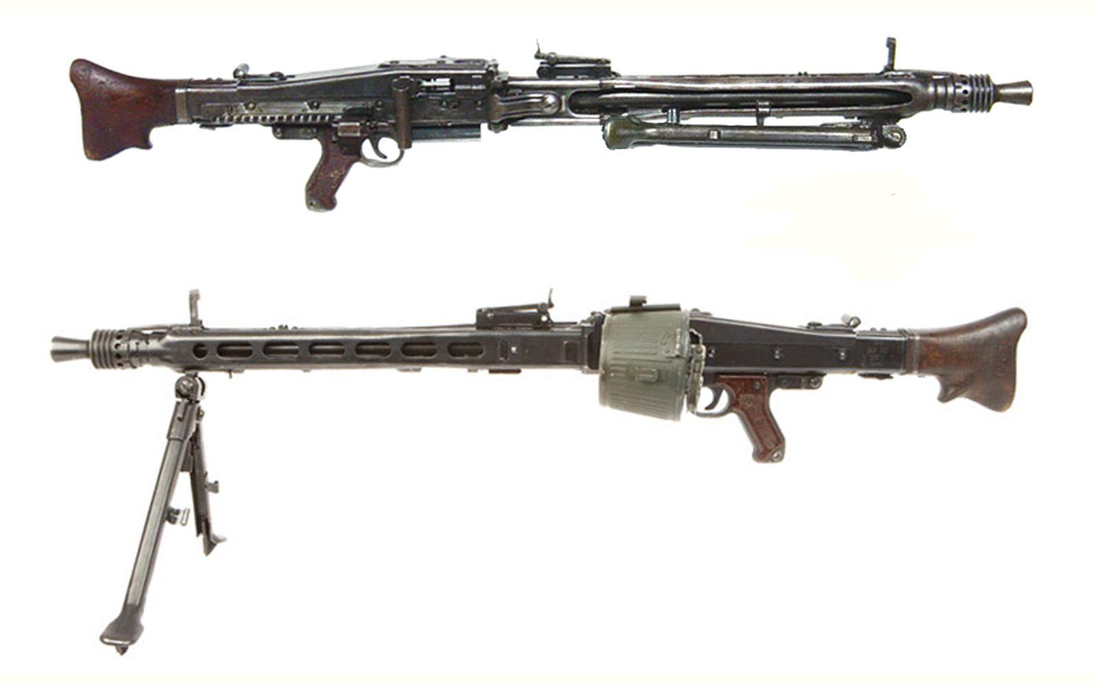 Maschinegewehr 42 Wallpaper: Produced 1942-1945 Caliber
