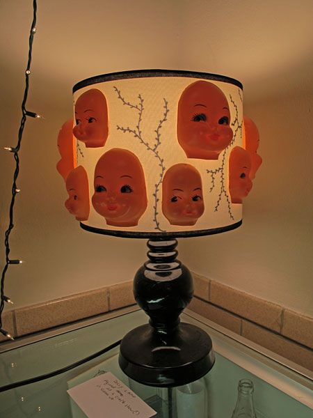 High Quality Doll Head Lamp Http Www Tackytreasures Images Ttrs