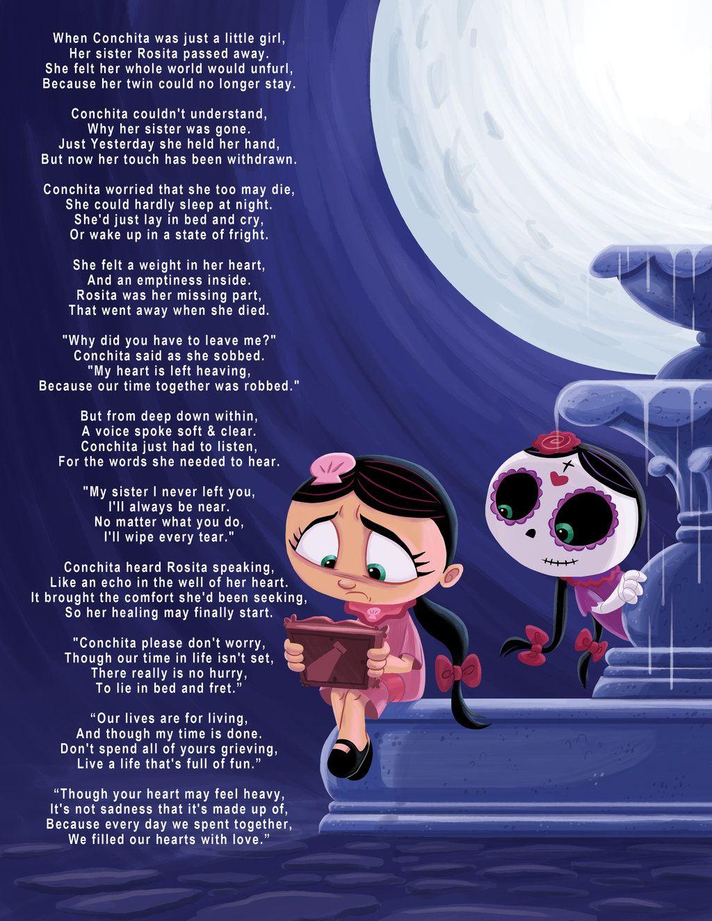 Rosita Y Conchita Grief Poem By Chiacheeseviantart On Deviantart