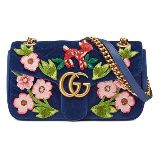 1deeec06b7f Ophidia embroidered medium shoulder bag - Gucci Women s Shoulder Bags  503876D6ZXG8828
