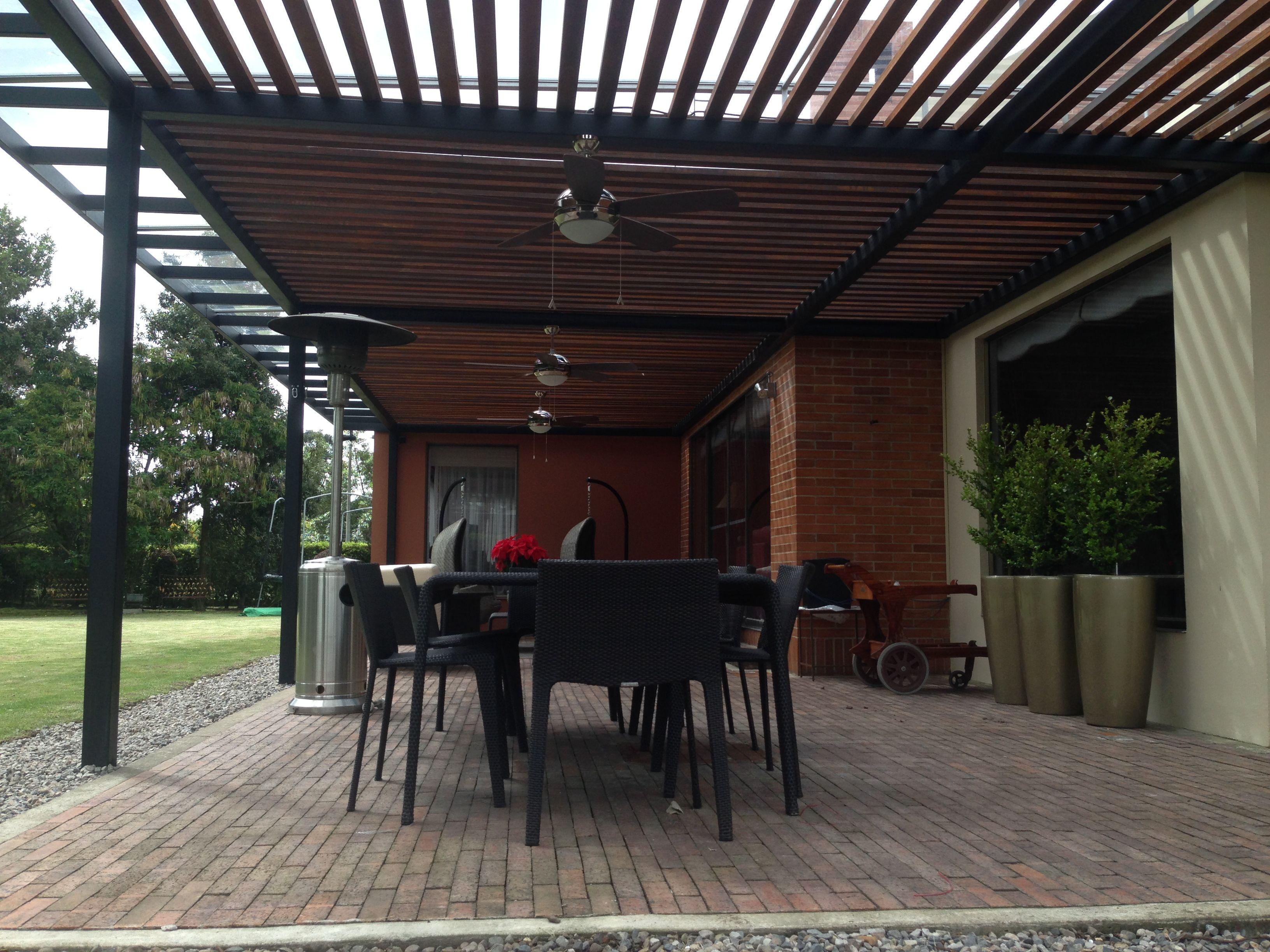 Pergolas 3k arquitectura hierro oxidado y policarbonato p rgolas met licas y policarbonato - Pergola de hierro ...