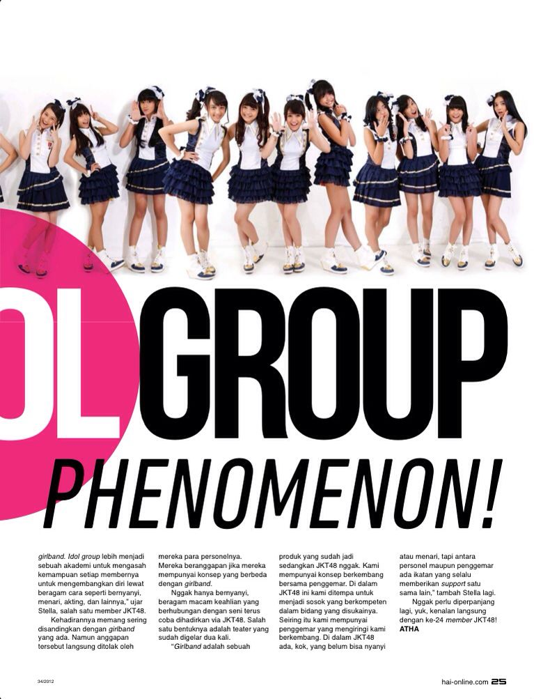 Hai 08 2012 Jkt48 Idol Produk