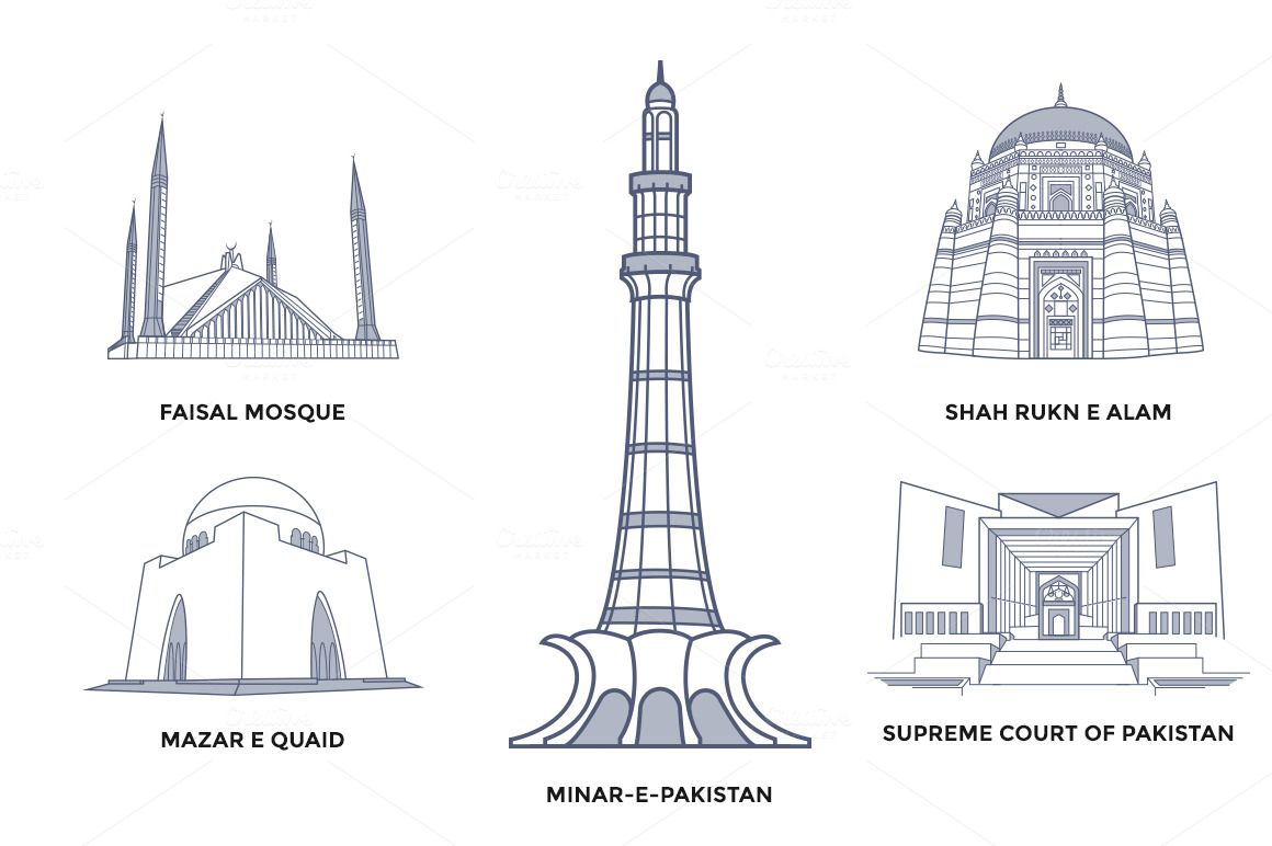 Pakistan Landmarks With Images History Of Pakistan Pakistan