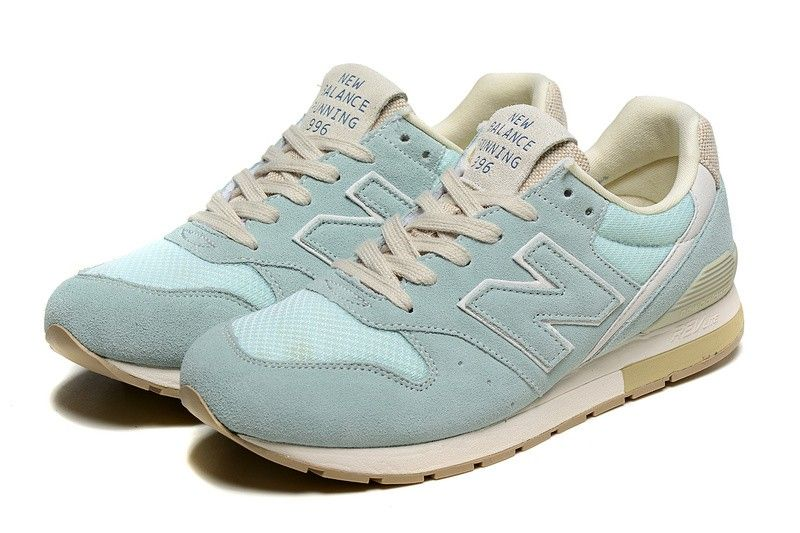 womens new balance pale blue 996 trainers