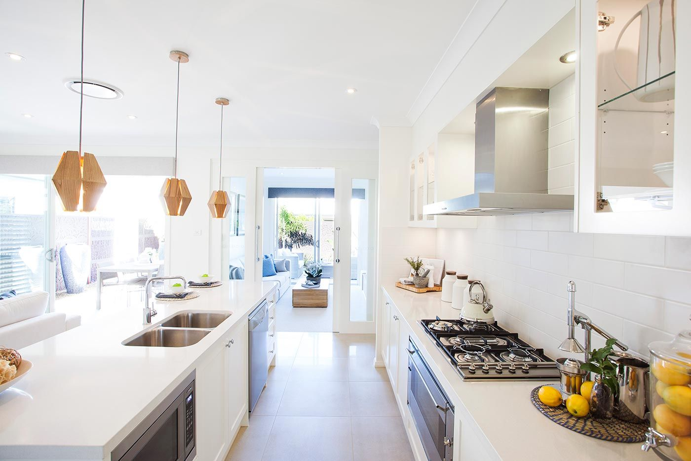 Nova - Images | McDonald Jones Homes | Kitchen colour ideas ...