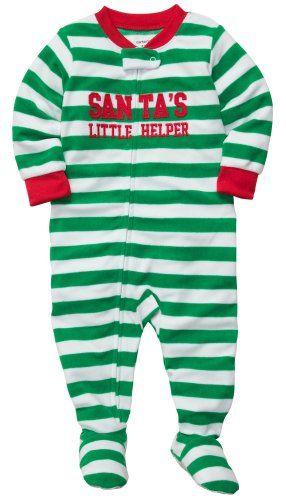Christmas Clothes#Carter\u0027s Baby Boys 1-piece Microfleece Christmas