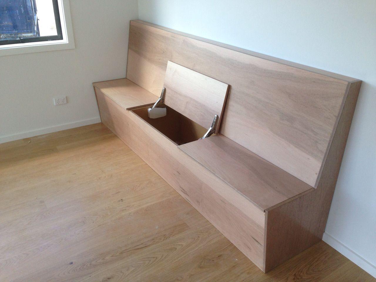 bench seat with storage | Storage bench seating, Storage ...