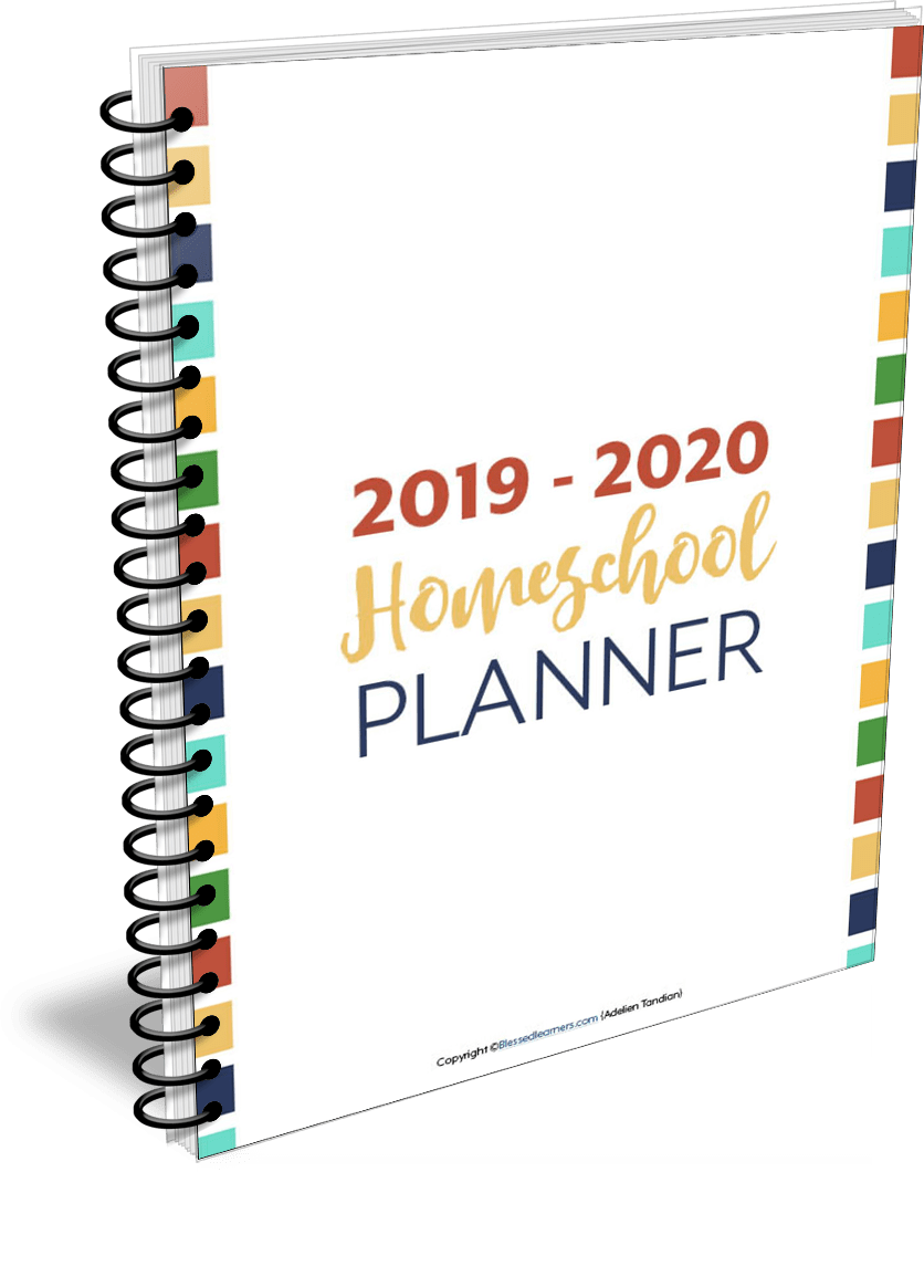 Home Free Tour 2020.Features In Our Homeschooling Planner Homeschool