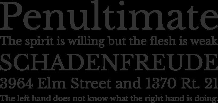 Free baskerville