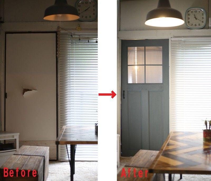 室内ドアをdiy 意外と簡単 おしゃれなアンティーク調ドアの作り方