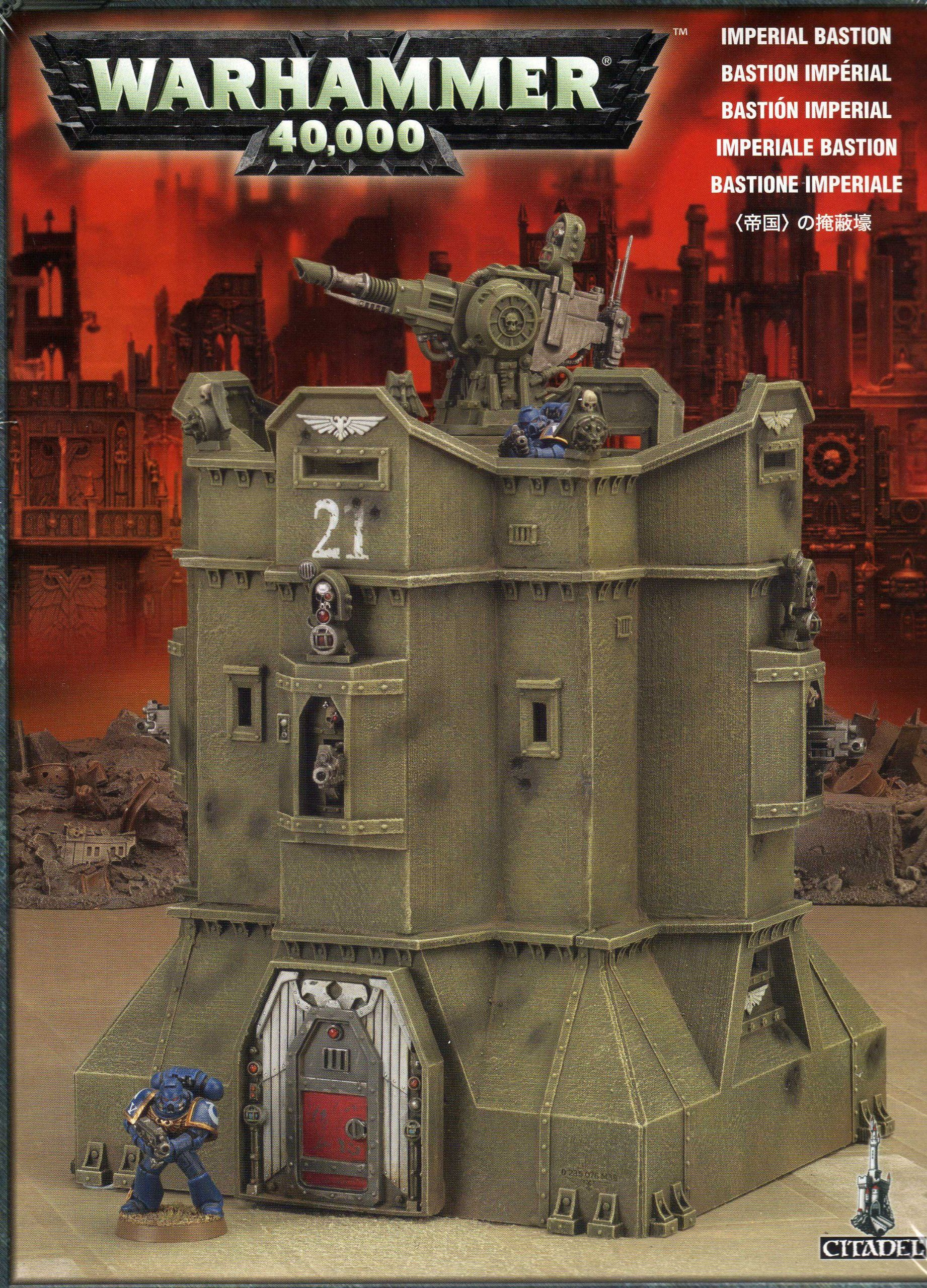Imperial bastion scenery 2009 warhammer