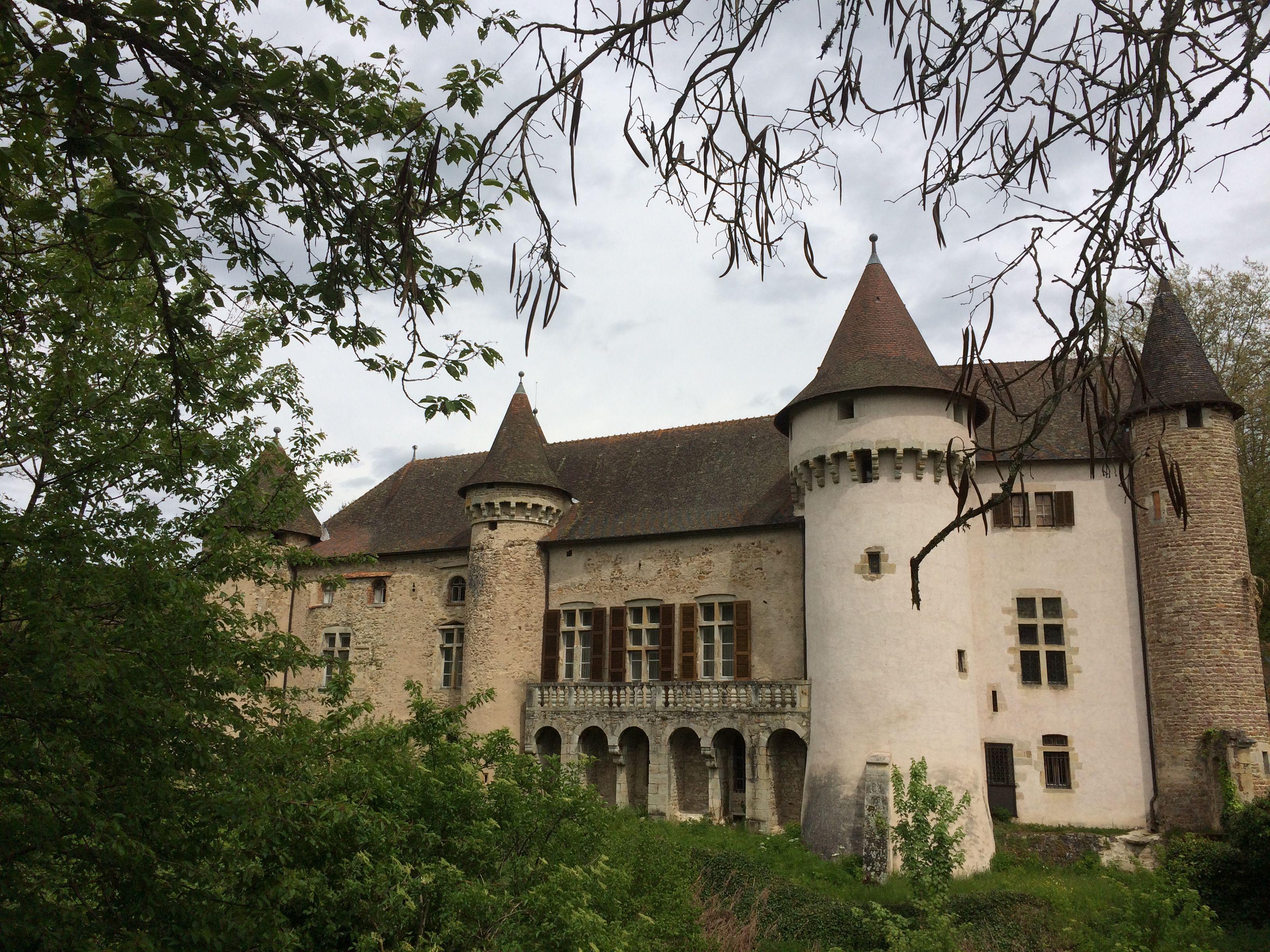 Château d'Aulteribe Chateau france, Voyage, France