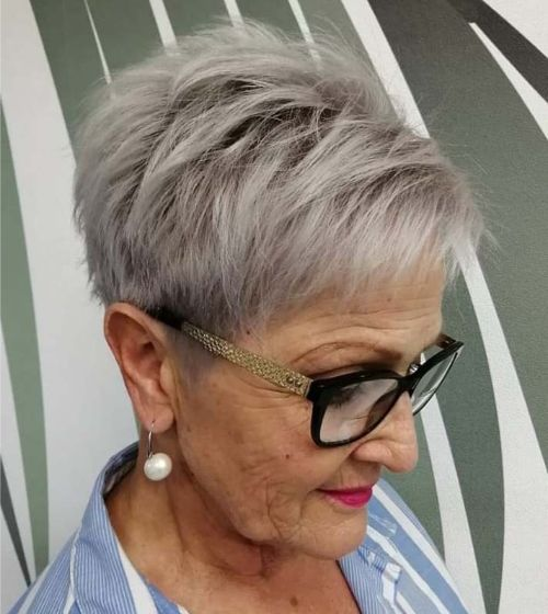 50 Gorgeous Hairstyles for Women Over 70 in 2020 | Mom ...