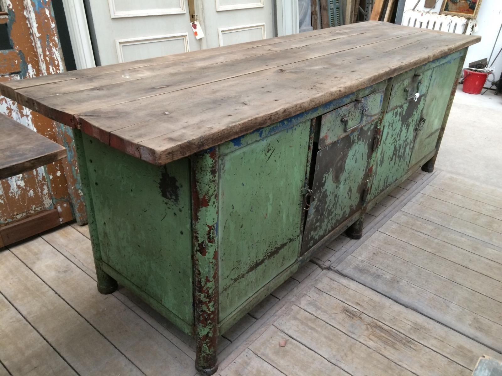 Stoere Werkbank Keuken : Keuken ikea oud uniek houten werkbank keuken gallery