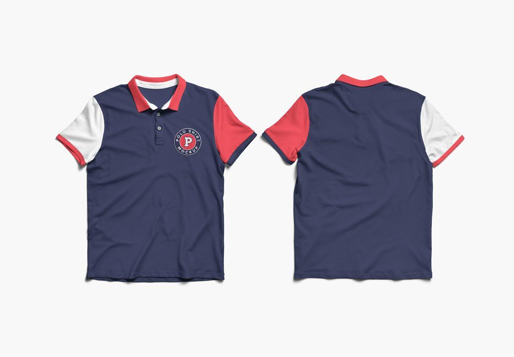 Download Polo Shirt Front And Back Mockup Mockupworld Polo Shirt Design Shirt Mockup Clothing Mockup