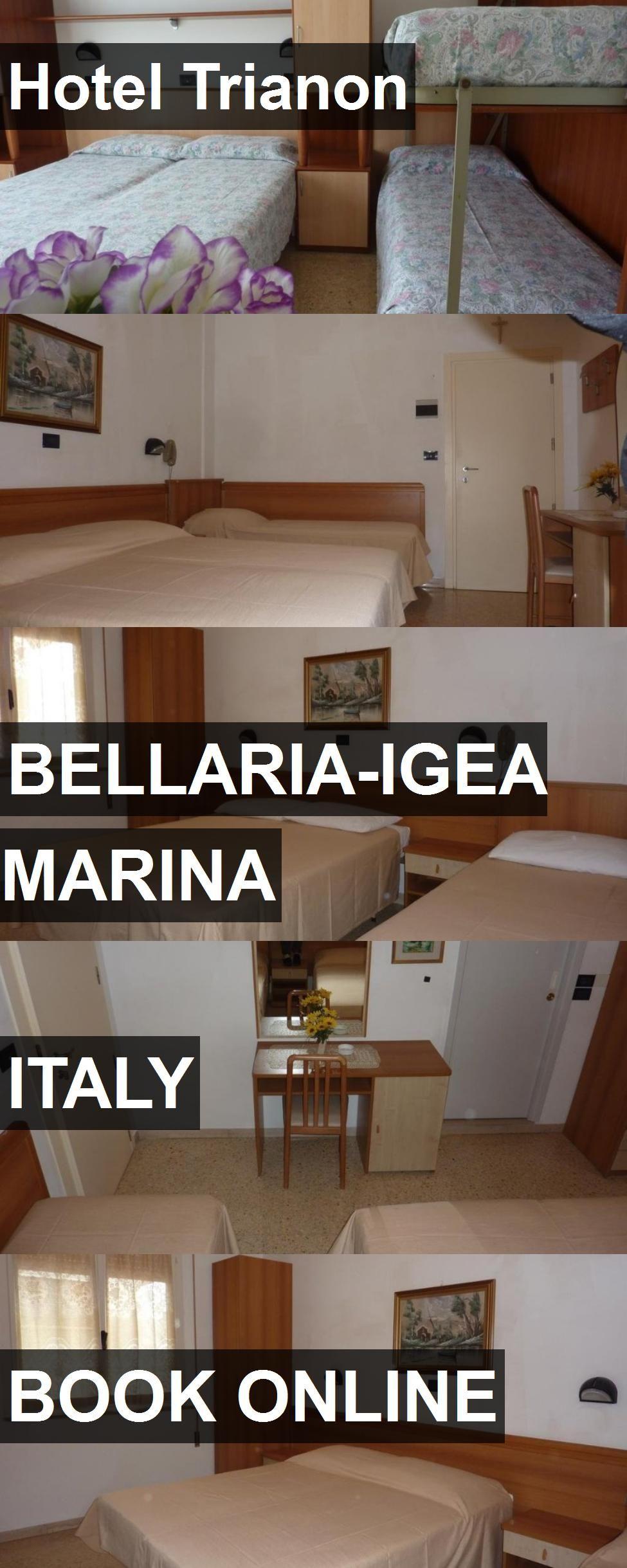 Hotel Trianon in BellariaIgea Marina, Italy. For more
