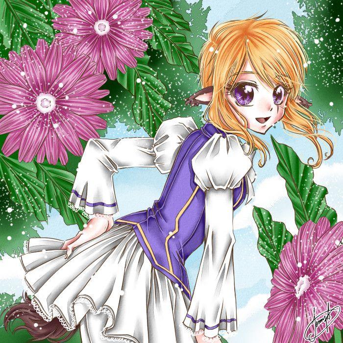 Fanart - Manga Girl - From JennyLiz - https://www.facebook.com/jennylizmanga/