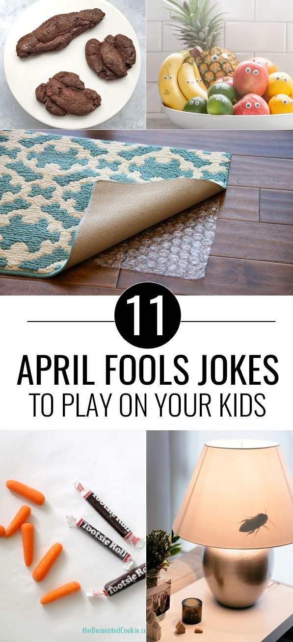11 Fun April Fools Pranks to Play On Your Kids