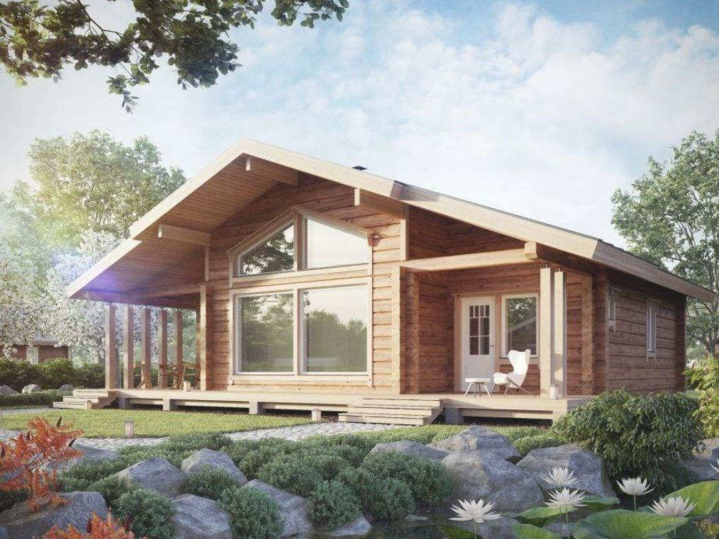 Honka Log Homes Provide A Warm And Harmonious Environment For Living Browse Our Traditional Collection F In 2020 House In The Woods Barn House Interior House Exterior