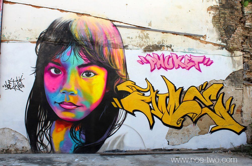 By NOE TWO - Graffiti artist from Paris, France #1 - Inspirational Post 7 Street Art Graffiti For the Win