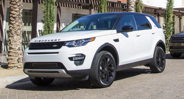land rover discovery sport 2016 black package on white