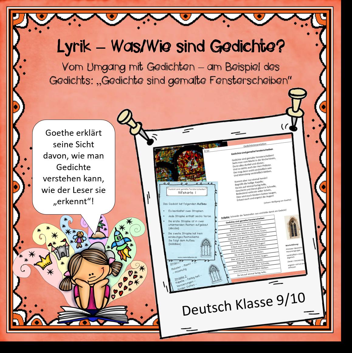 Deutschunterricht Klasse 9 Und 10 Und Der Versuch Den