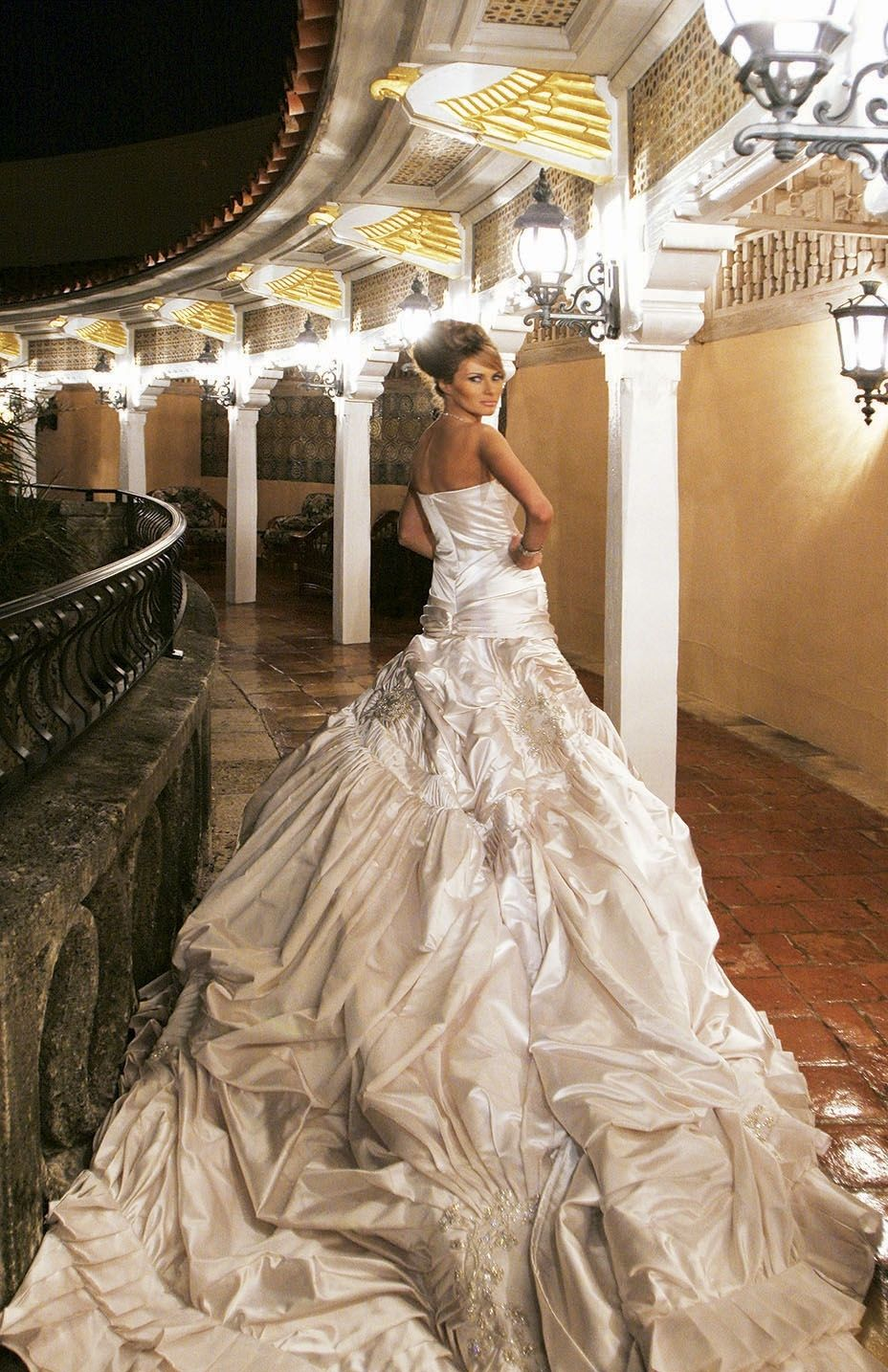 Melania Knauss Wedding Dress | Wedding Dress | Pinterest | Wedding ...