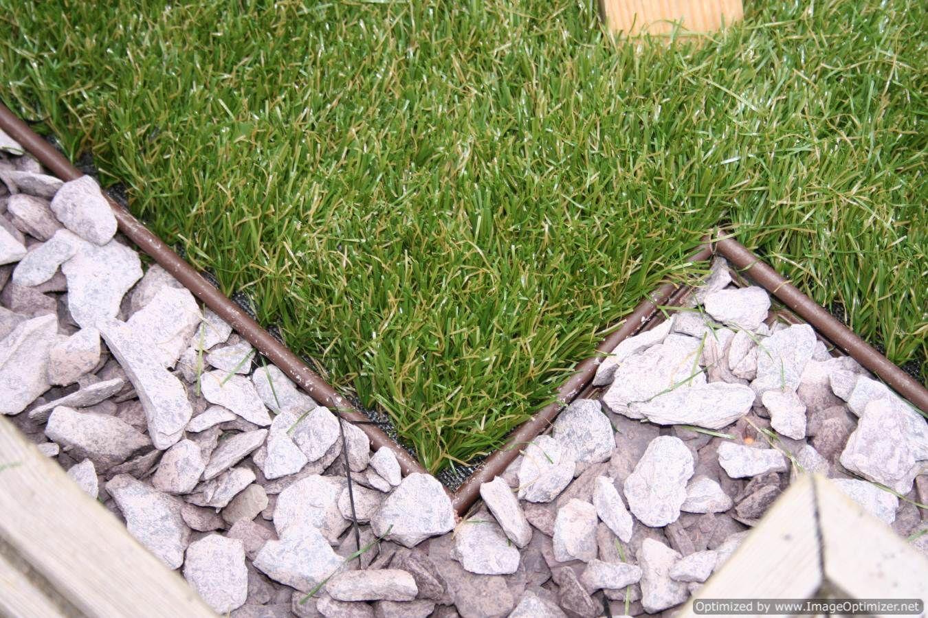 Multi edge artificial grass edging garden ideas for Grass border