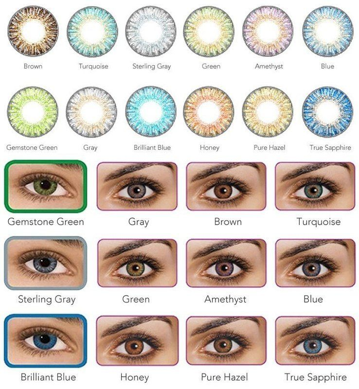 Pro Series Cosmetic Colored Contacts | Contact lenses colored, Eye lens  colour, Coloured contact lenses