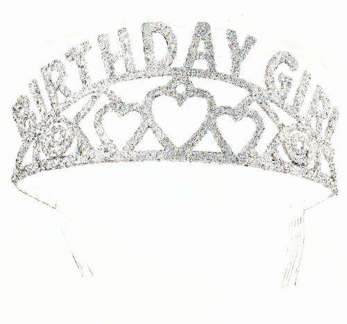 Forum Novelties Glitter Tiara Birthday Girl * To View