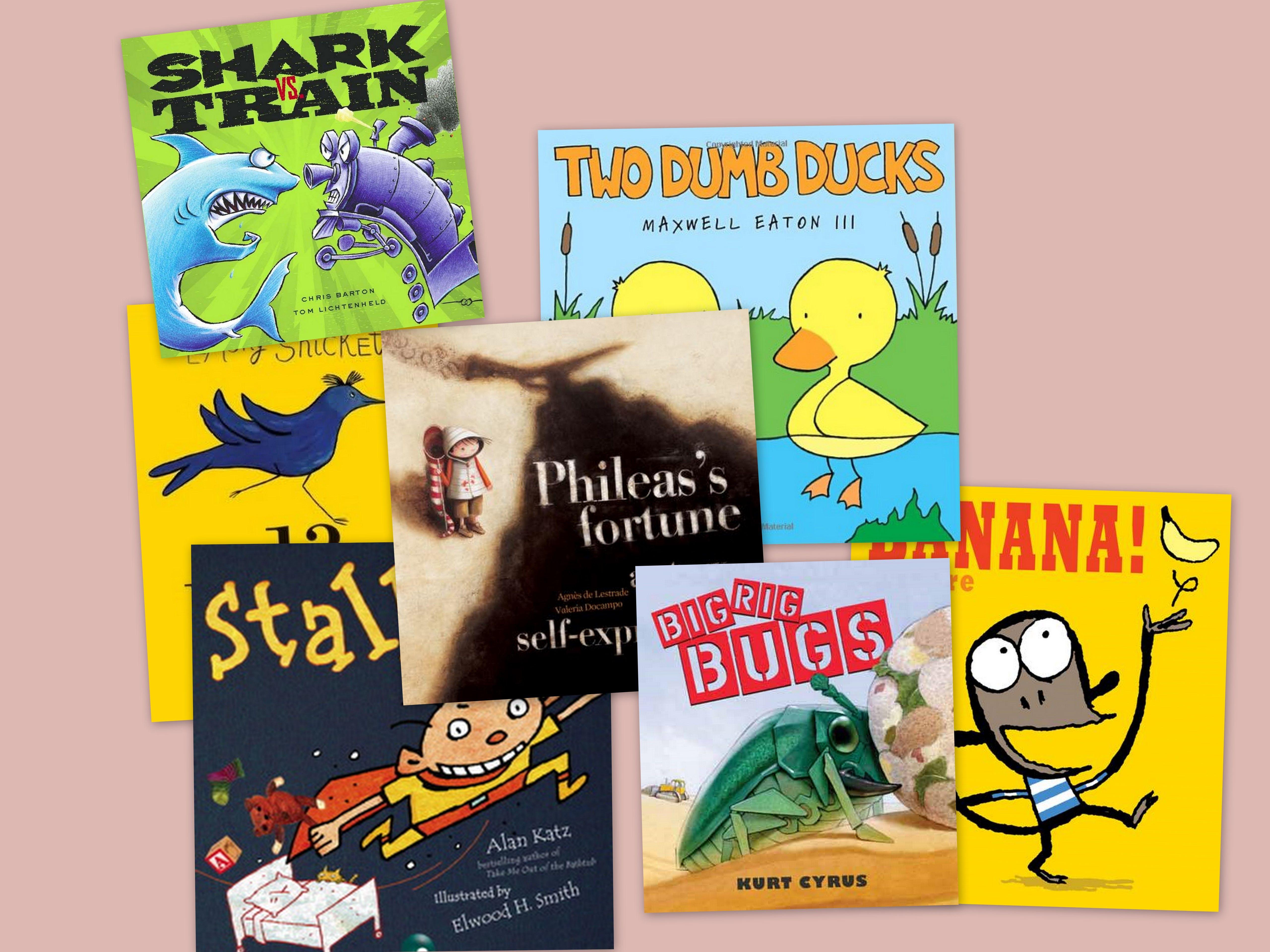 CYA Podcast reviews 7 children's books