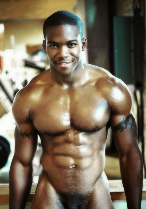 Hot black male