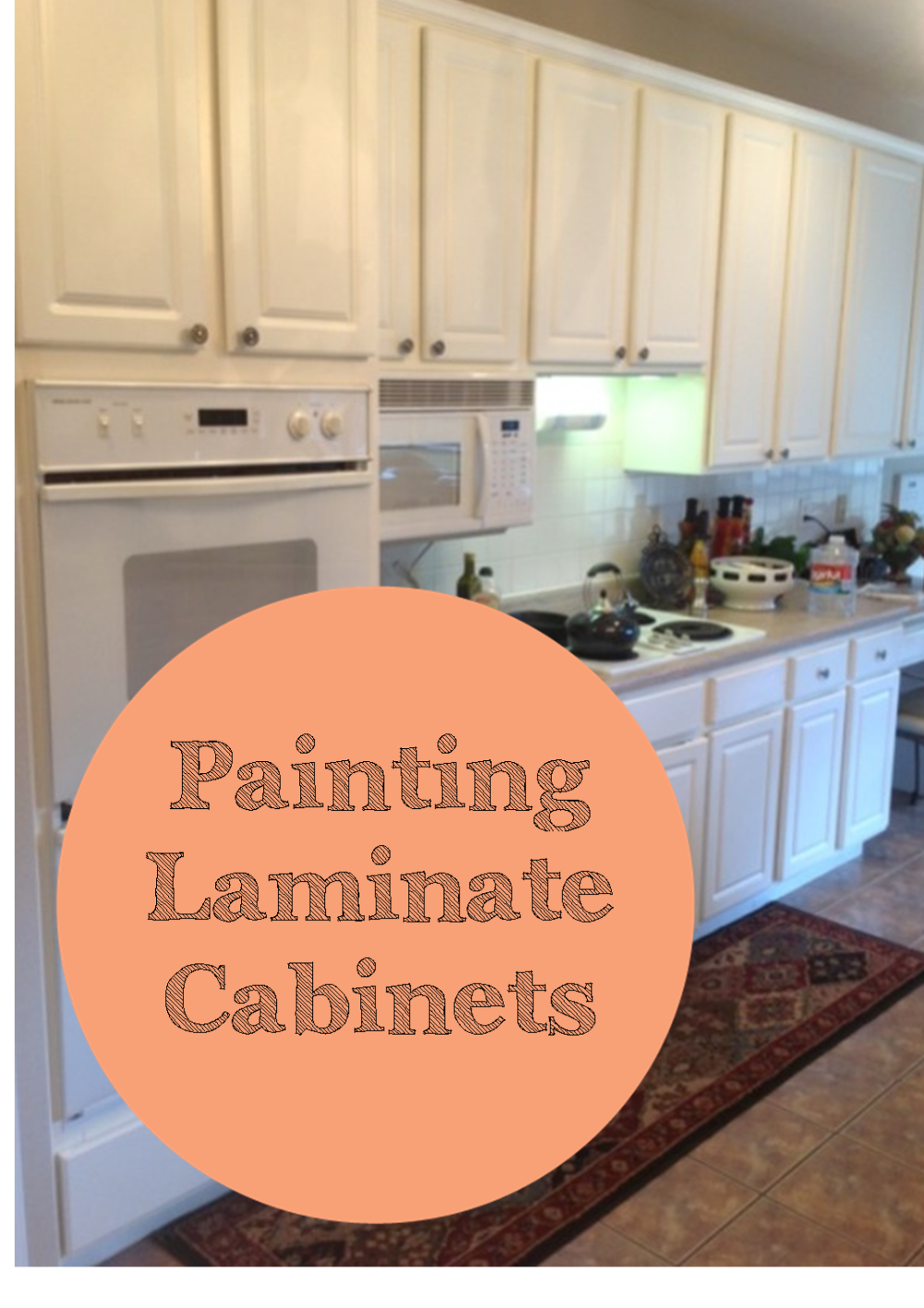 The Ragged Wren Painting Laminated Cabinets In 2020 Laminate Kitchen Cabinets Laminate Cabinets Painting Laminate Cabinets