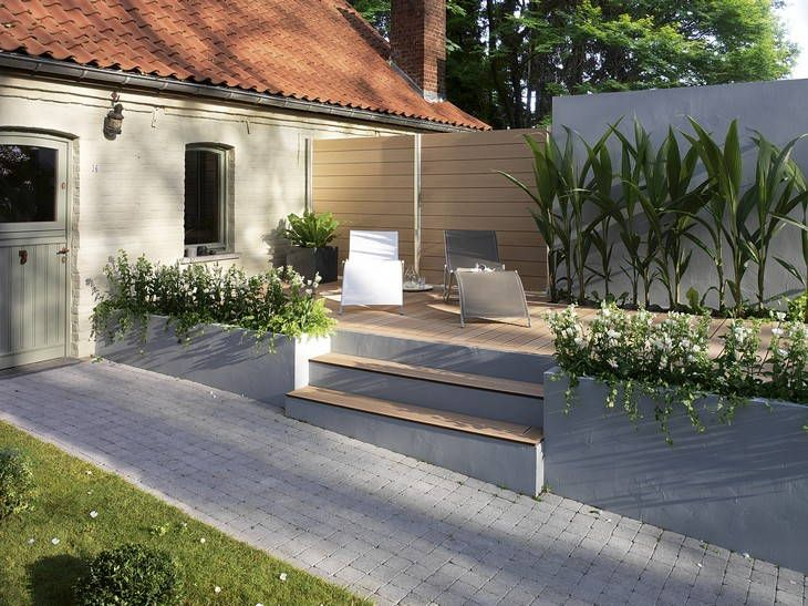 3 id es pour am nager son all e de jardin all e travaux for Amenager une cour exterieur