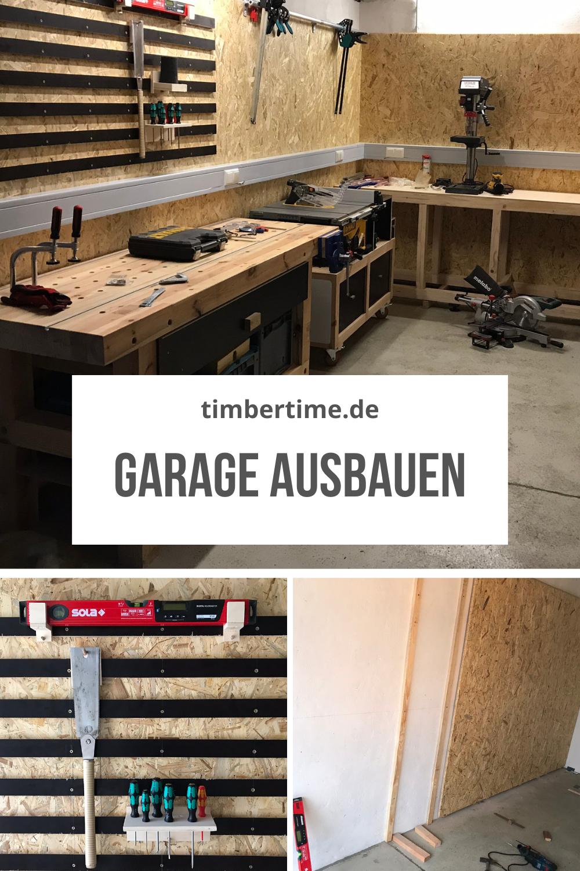 Werkstatt In Garage Einrichten In 2021 Werkstattschranke Garage Selber Bauen Werkstatt Aufbau