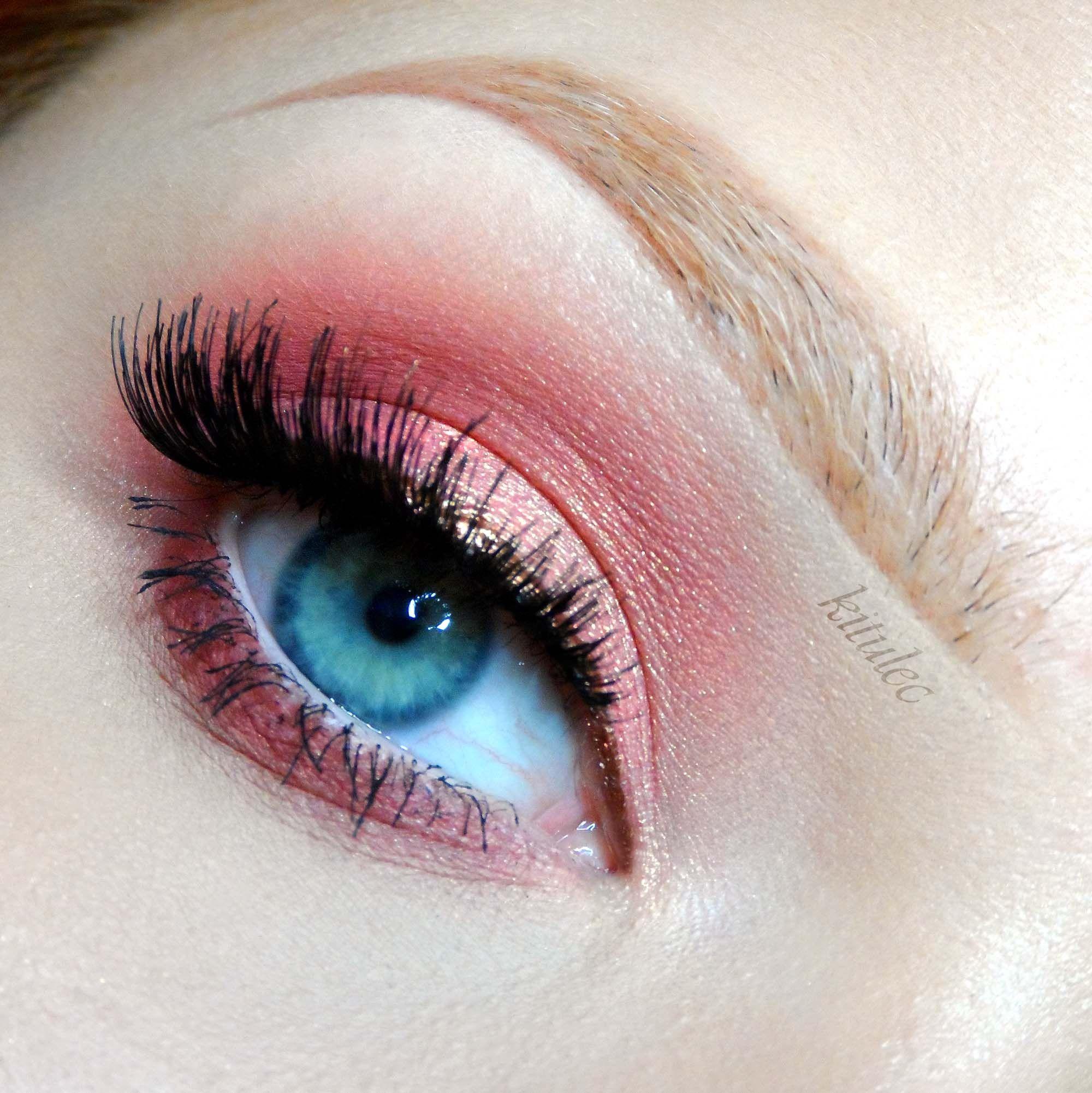 Rose Gold Makeup Tutorial Red & Pink Makeup Looks
