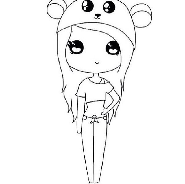 Cute Panda Chibi Apart Of My Halloween Collection Plz Follow Me