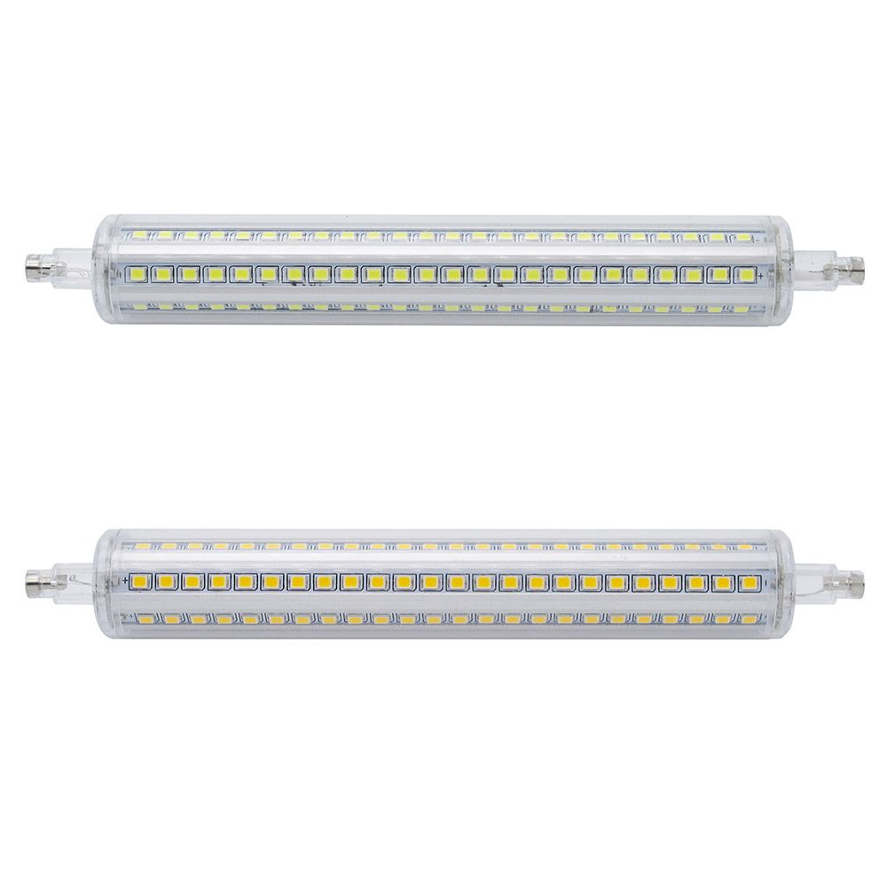 Dimmable Ampoule R7s Led Mais 2835 Smd 78mm 118mm 135mm 189mm Lumiere 7 W 14 W 20 W 25 W Remplacer Halogene Lampe Ac 85 265 V Projecteur Halogen Lamp Bulb Led