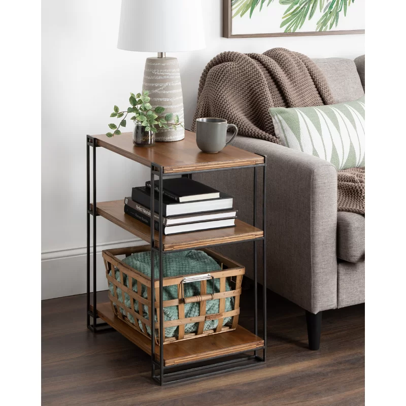 Solid Wood End Table In 2020 Wood End Tables Living Room End Tables End Tables #wooden #end #tables #for #living #room