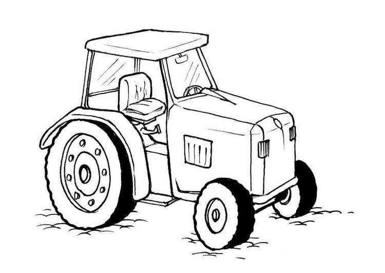 traktor ausmalbilder 03 | ΣΠΟΡΑ - ΟΡΓΩΜΑ | Pinterest | Idea paint ...