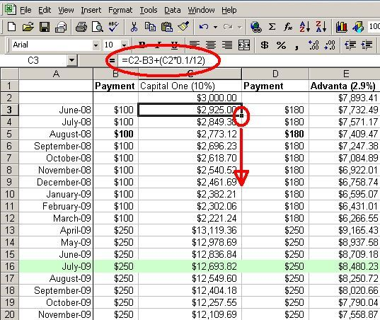 Make A Personal Budget On Excel In  Easy Steps  Debt Students
