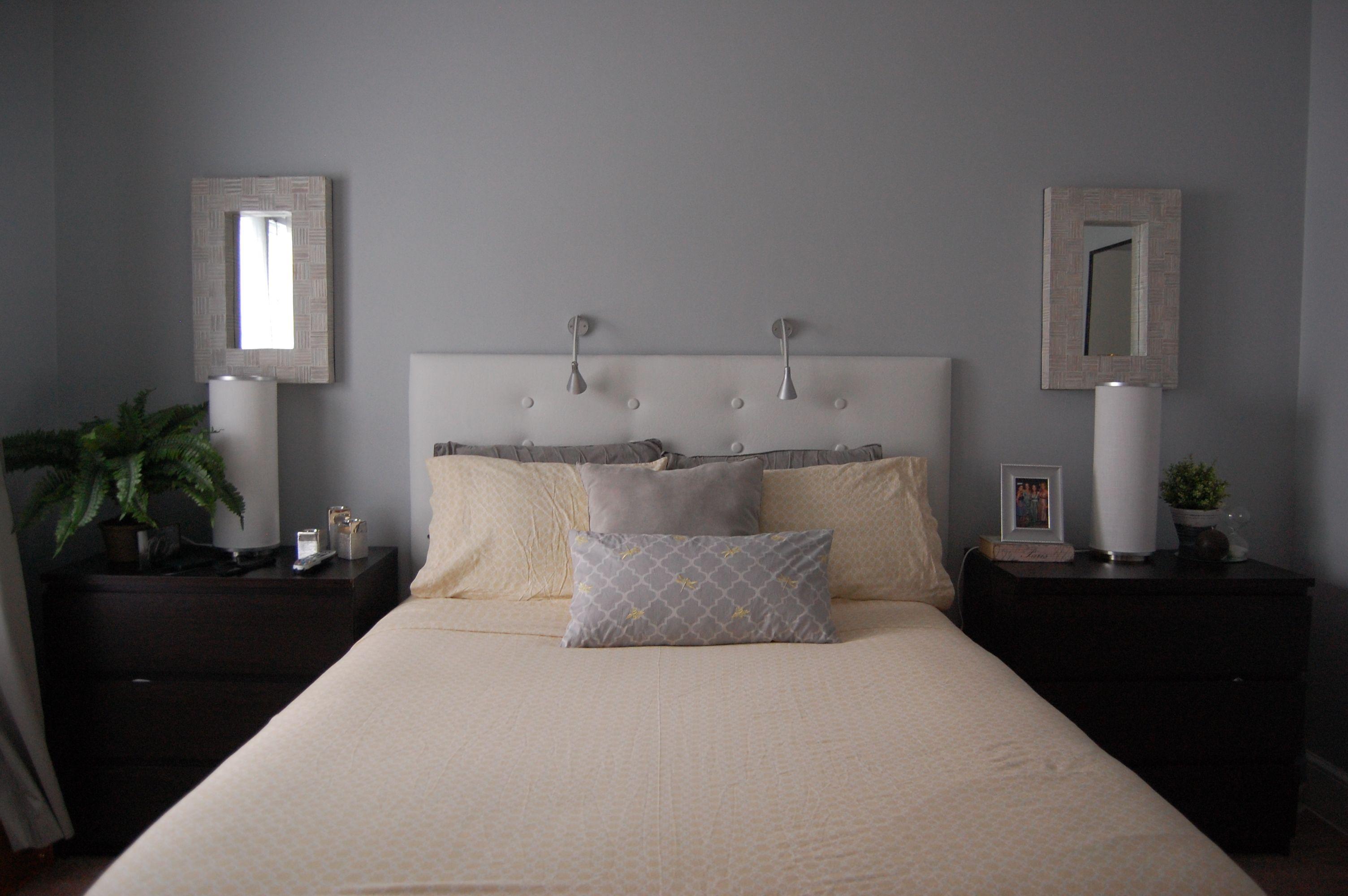 Wohndesign für kleines schlafzimmer warme graue farbe farben für schlafzimmer schlafzimmer