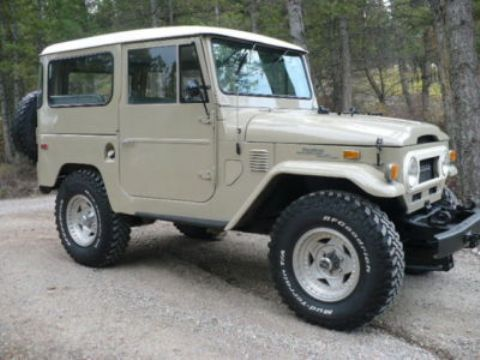 If I ever get a garage, I will have one of these again. 1972 Toyota Lancruiser FJ40