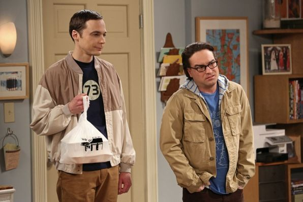The Big Bang Theory Photos: Takeout time in The Closet Reconfiguration Episode 19 of Season 6 on CBS.com