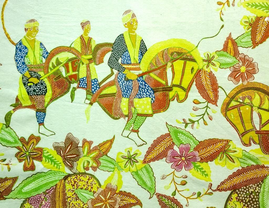 Batik Sunda pesisir laut selatan   copysual