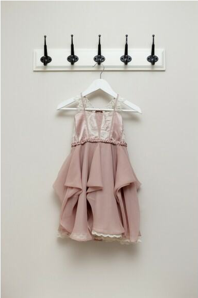 Flowergirl dresses / Pink & Grey. View on The LANE: http://thelane.com/the-directory/pink-and-grey