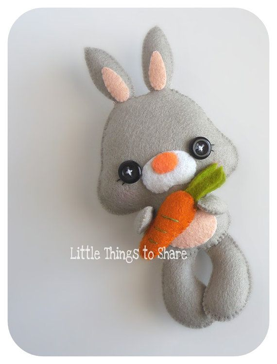 Spring the Bunny-PDF pattern-Easter Bunny-DIY-Nursery decor-Instant ...